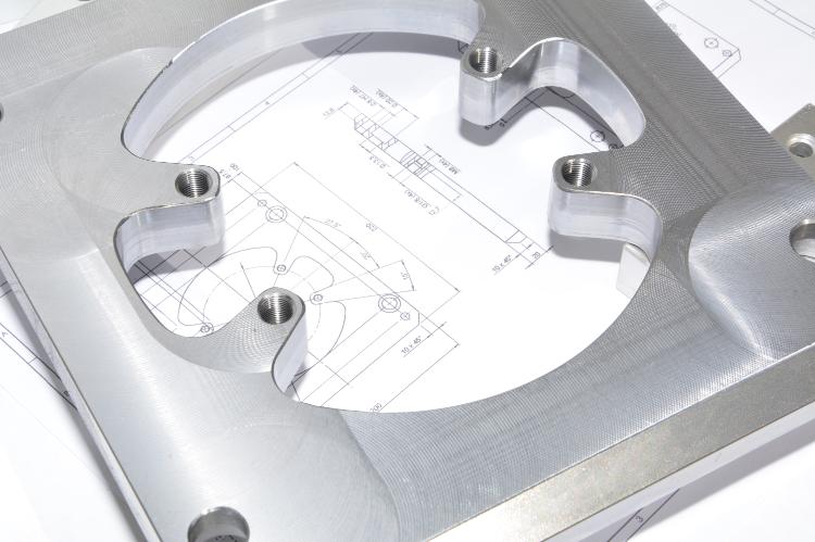 CNC-Fräsen Zeichnung