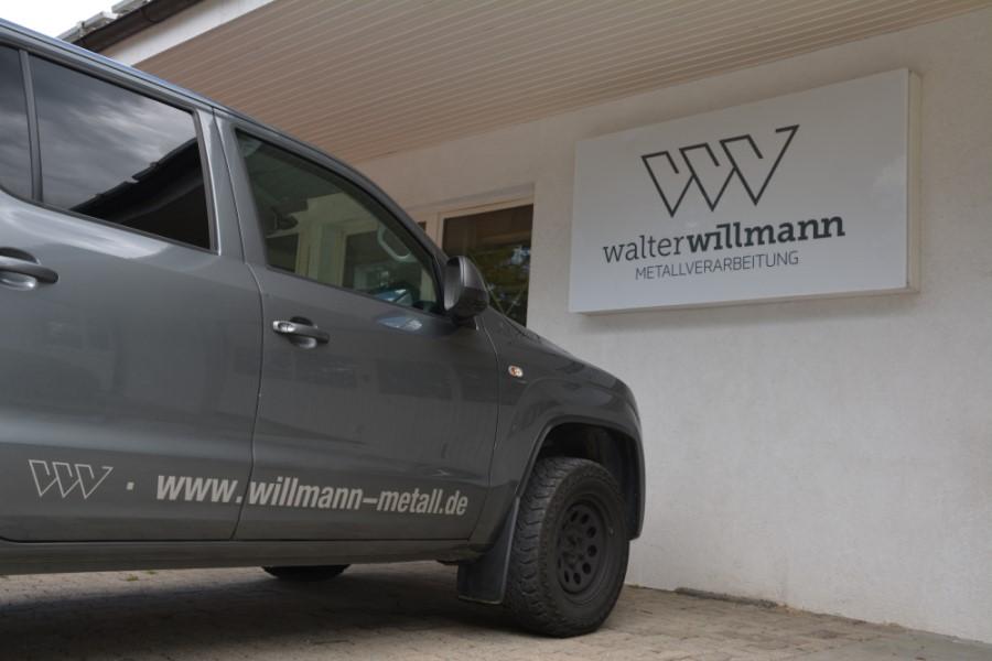 Walter Willmann Metallverarbeitung Firmenschild
